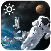 3D Outer-space Weather Widget 16.6.0.47720