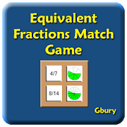 Equivalent Fractions Matching 1.04