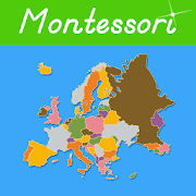 Europe – Montessori Geography with Puzzle Maps 1.0