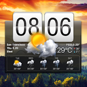 Flip Clock & Weather Widget 16.6.0.47721