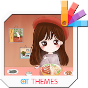 Hot Pot Happy Xperia Theme 1.0.0