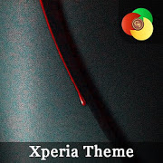 red drop | Xperia™ Theme – rounded edges 1.0.redd