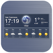 Digital clock and weather widget 16.6.0.50015
