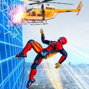 Flying Robot Rope Speed Hero – Rescue Mission 1.2