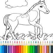 Horse Coloring Book 13.4.2