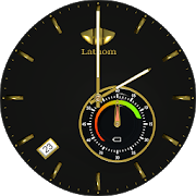 Lathom Elegant Black Android Wear Watch Face 1.0