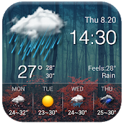 Local reliable temperature, weather widget&alerts 16.6.0.50015