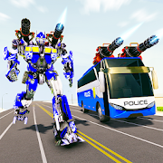 Bus Robot Car Transform War –Police Robot games 1.9