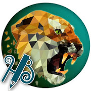 HB Low poly tiger XPERIA™ theme 1.0.0
