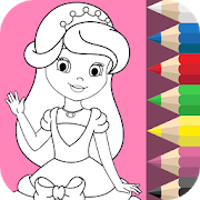 Princess Coloring Book ❤ 1.4.8