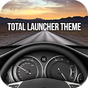 CAR theme for Total Launcher 1.0