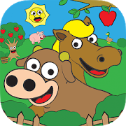 Coloring Farm Animal Coloring Book For Kids Games 1.4