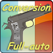 Conversion full-auto Browning Android 1.0 – 2016