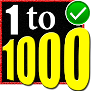 Learn 1 to 1000 Numbers 5