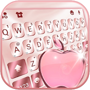 Rose Gold Keyboard for Phone8 8.0
