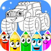 Coloring book : Transport 1.2.5