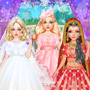 Fashion Wedding Dress Up Designer: Girls Games 0.7