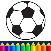 Football coloring book game 13.9.6