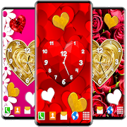 Love Analog Clock ❤️ Watch Live Wallpaper Hearts 6.3.0
