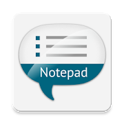 Notepad with voice input 1.62