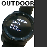 Outdoor Altimeter Watch Face 1.0