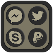 Shadowy Oreo Icon Pack 1.5.3