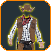 Cowboy Costume Photo Suit 1.4