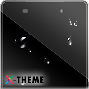 Drops on Screen X theme 2.1.0