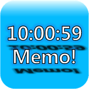 Always on top clock and memo 0.8.70