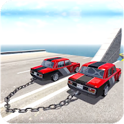 Chained Cars Against Ramp 3D 4.1 and up