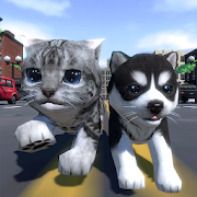 Cute Pocket Cat And Puppy 3D 1.0.7.9