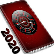New 2021 Red Clock Live Wallpaper 1.309.1.101