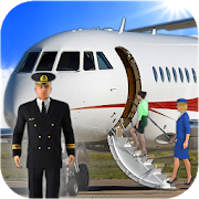 Airplane Real Flight Simulator 2020 : Plane Games 5.5