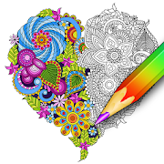 Coloring for adults – relaxing app – coloring book 1.2.1.399new