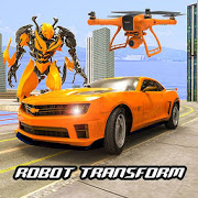 Drone Robot Car Transform Robot Transforming games 2.9