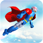 Flying Hero Robot Transform Car: Robot Games 2.0.5