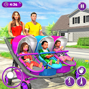 New Mother Baby Triplets Family Simulator 1.1.6