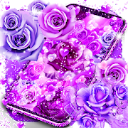 Purple rose love live wallpaper 16.0