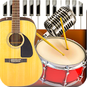 Band Live Rock – Drum, Piano, Bass, Guitar, voice 4.0.3