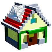 House Voxel Paint by Number – 3D Glitter Coloring 4.8