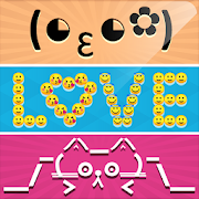 Smiley Face Art & Emotions Text Fonts Word Arts 1.7
