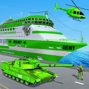 US Army Ship Transport:Tank Simulator Games 5.0 and up