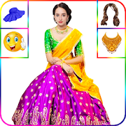 Women Lehenga Saree Suit Photo Editor 1.0.24