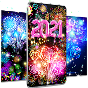 Happy new year 2021 live wallpaper 18.6