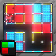 Dots and Boxes (Neon) 80s Style Cyber Game Squares 2.1.29