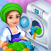 Laundry Shop Clothes Washing Game 1.23