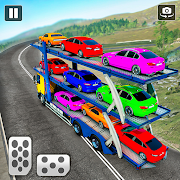 Real Car Transporter Truck – Offroad Driving Games 4.4 and up
